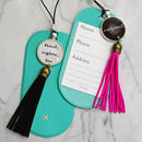 Travelling Quote Luggage Tag
