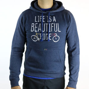 'Life Is A Beautiful Ride' Graphic Hoodie - sweatshirts & hoodies
