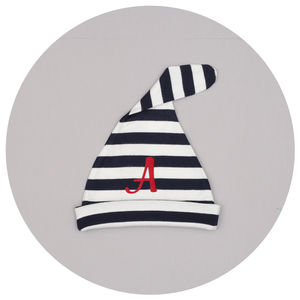 Personalised Initial Baby Hat