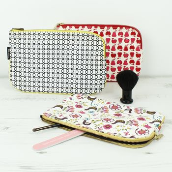 Organic Cotton Carry All Pouch Fruit