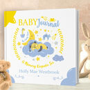 Personalised Baby Journal Book The Early Years