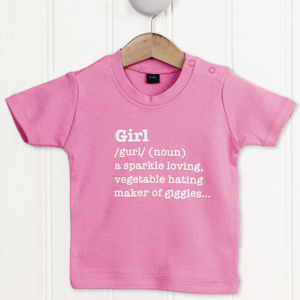 Girl Definition T Shirt - t-shirts & tops