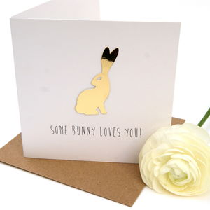 'Some Bunny Loves You!' Easter Card - what's new