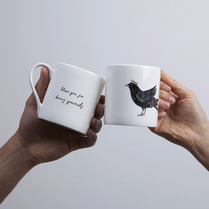 'Bless You For Being Yourself' Mug - kitchen