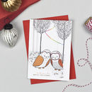 'To The One I Love' Christmas Card