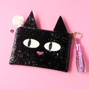 Kitty Cat Clutch Bag