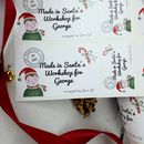 24 Personalised Gift Labels From The North Pole