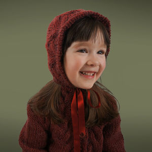 Handmade Victorian Sandstorm Bonnet - baby & child sale