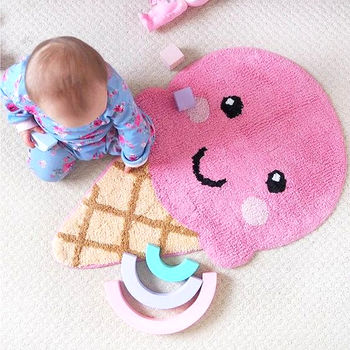 Soft Childs Baby Nursery Rug Mat