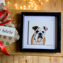 Personalised Hand Painted Dog Or Cat Portrait Tile