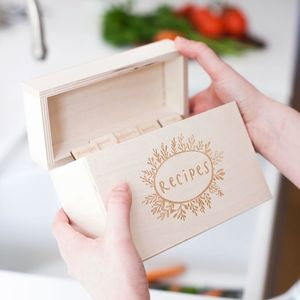 Kitchen Recipe Box - shop by interest