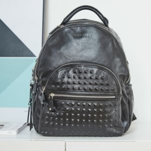 Personalised Joy Xl Leather Baby Changing Backpack - whatsnew