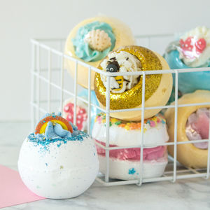 Zingy Blaster Bath Bomb - stocking fillers for her