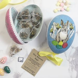 Traditional Easter Egg Filled With Tea - easter gifts
