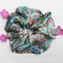 100% Silk Scrunchie Flower Field