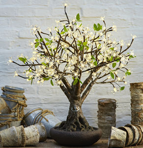 Bonsai LED Cherry Tree - new in garden