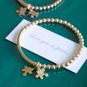 Love You To Pieces Bracelet - bracelets & bangles
