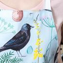 Cornish Garden Bird Baking Apron
