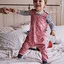 'Mummy Is The Best' Print Children's Dungarees