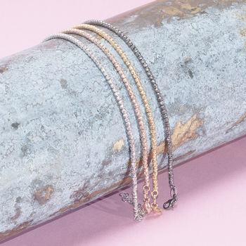 Sparkle Bracelets In Silver, Gold And Rose Gold
