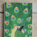 Peacock A5 Spiral Bound Notebook
