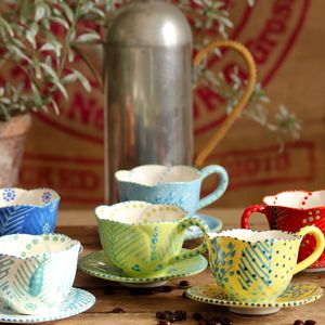 Espresso Cups - the mexicana collection