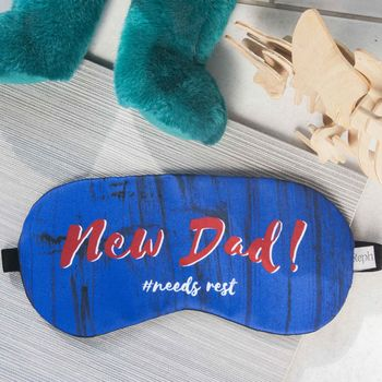 New Dad Sleep Mask