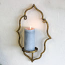 Majestic Gold Wall Candle Holder Sconce