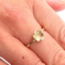 9ct Yellow Gold Flower Ring
