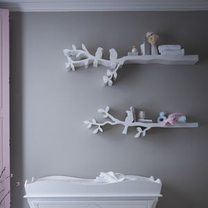 Bird Shelves - children's storage