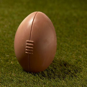 Chocolate Rugby Ball - easter eggs