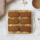 Caramelised Biscuit Blondies