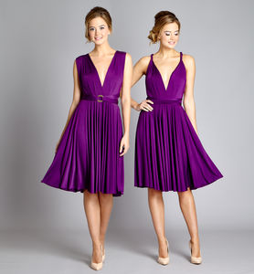 Multiway Knee Length Dress - dresses