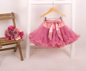 Pettiskirt Tutu In Wild Rose - christmas clothing & accessories