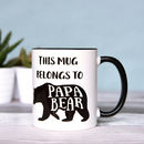 Papa Bear, Father's And Dad's Mug