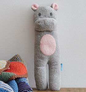 Hippo Soft Knit Toy - soft toys & dolls