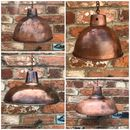 Trendy Distressed Copper Plate Lampshades