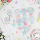 18 Baby Shower Guest Name Stickers