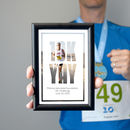 Small Framed '10k Yay' Running Photo Print