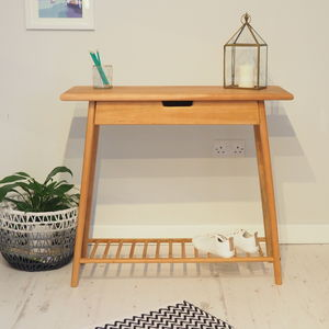 Wooden Console Table Stockholm