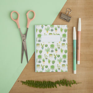 Houseplants Print Pocket Notebook