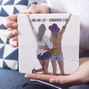 Personalised Best Friend Photograph Ceramic Print - photography & portraits