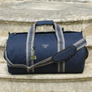 Personalised Canvas Holdall