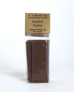 Hazelnut Praline Slab - chocolates & confectionery