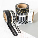 Monochrome Designed Washi Tape