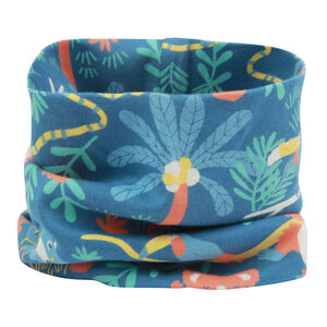 Kids Blue Rainforest Neck Warmer