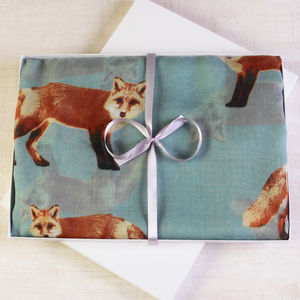 Fox Print Scarf - view all new