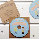 First Day At School Personalised Song CD
