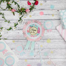 Baby Shower Mum To Be Rosette