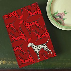 'Mitzi The Dalmatian' A5 Lined Notebook